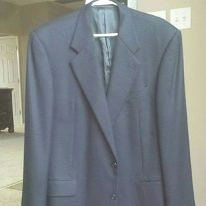 Hickey Freeman blue blazer 42 L